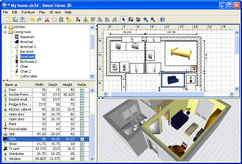 download sweet home 3d gratis - nuova versione in italiano su ccm - Arredare Casa Free Software