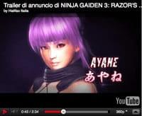 Ninja Gaiden 3: Razor's Edge ecco la demo