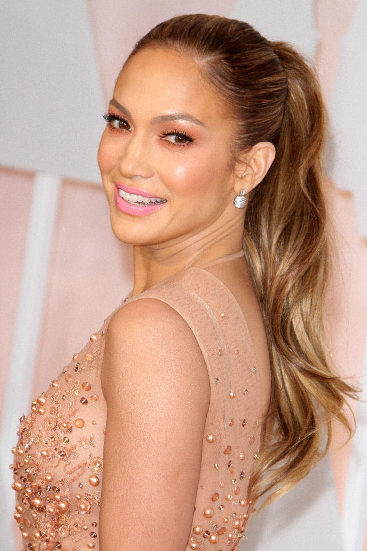 Capelli Color Caramello Copia Il Look Di Jennifer Lopez