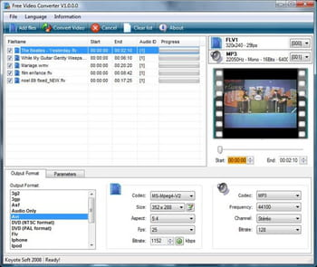 VIDEO TÉLÉCHARGER CONVERTER FREE GRATUIT KOYOTE