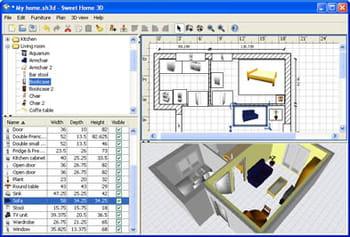 Download sweet home 3d gratis nuova versione in italiano for Programmi arredamento 3d gratis ikea