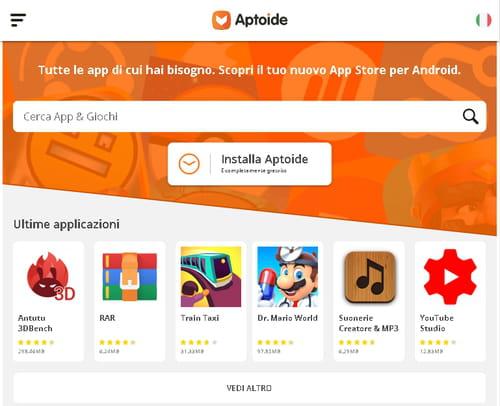 Download Aptoide gratis - Nuova versione in italiano su CCM
