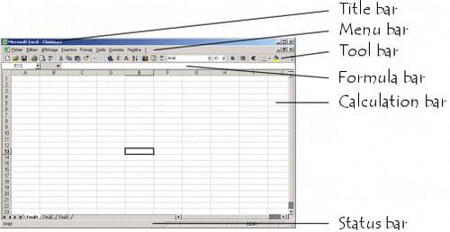 interfaccia di Microsoft Excel