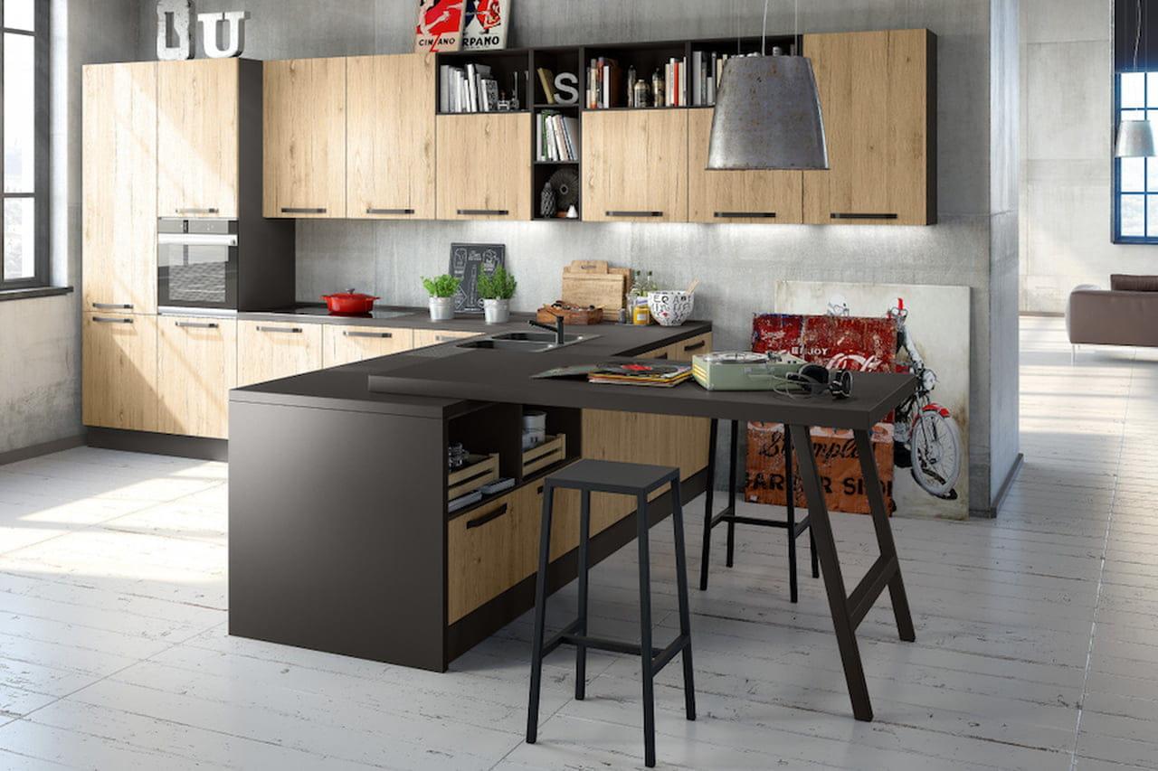 Cucine Mondo Convenienza 2017: design per tutte le tasche ...