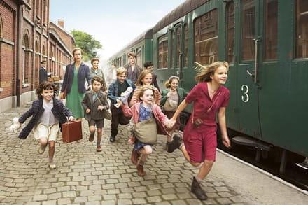 Fanny e i suoi amici durante la prima tappa del viaggio verso la Svizzera © Ufficio stampa MIC - Mueseo Interattivo del Cinema