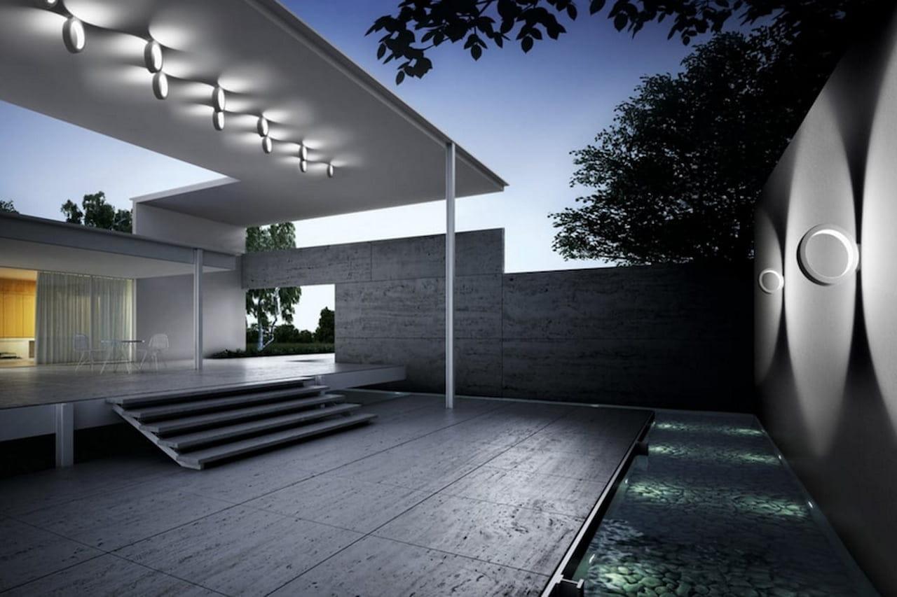 Illuminazione giardino: lampade luci e faretti di design