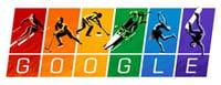 Google dedica il doodle di oggi a Sochi 2014 e difende i diritti di tutti