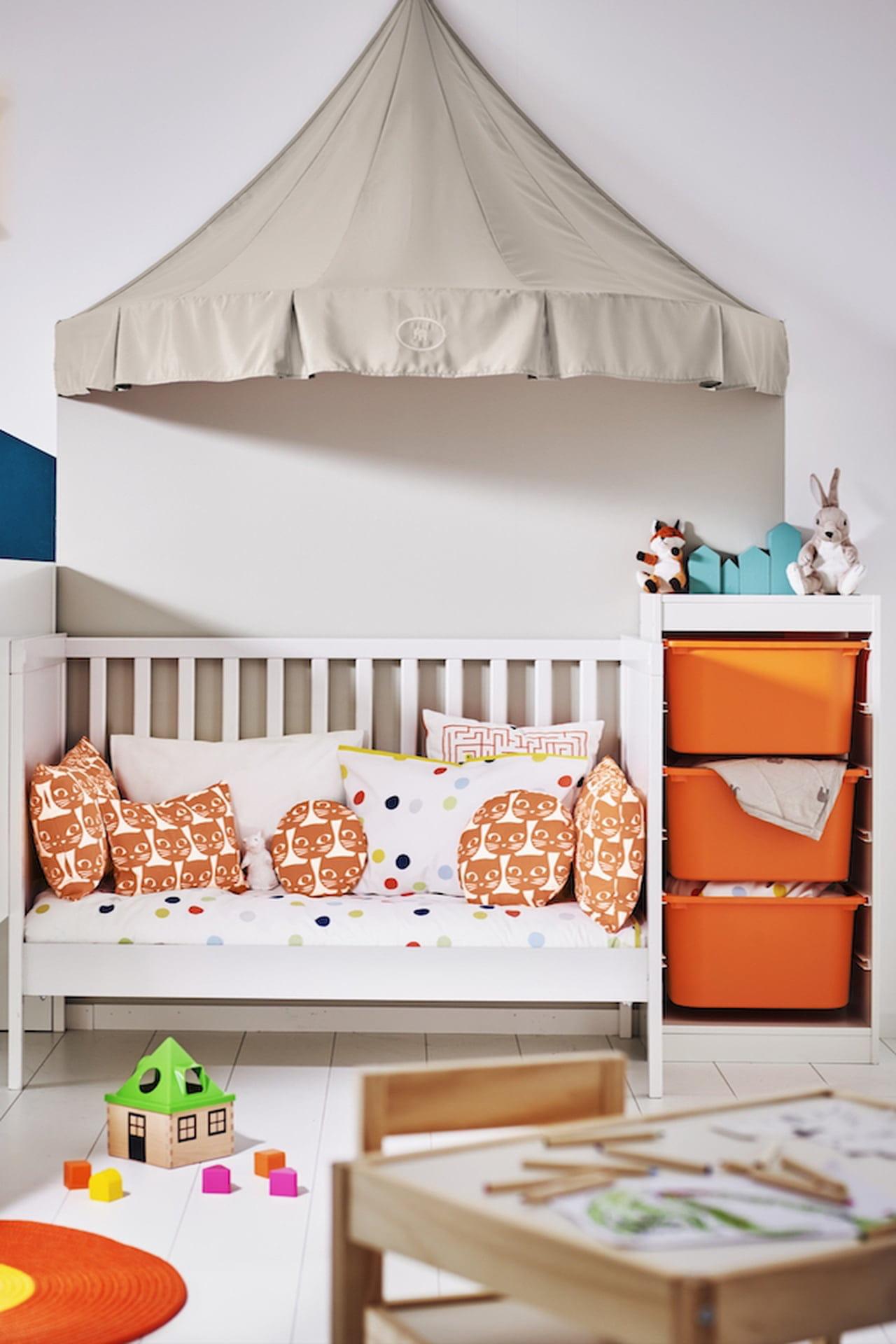 Letto Ikea A Baldacchino.Camerette Ikea Proposte Per Neonati Bambini E Ragazzi Magazine