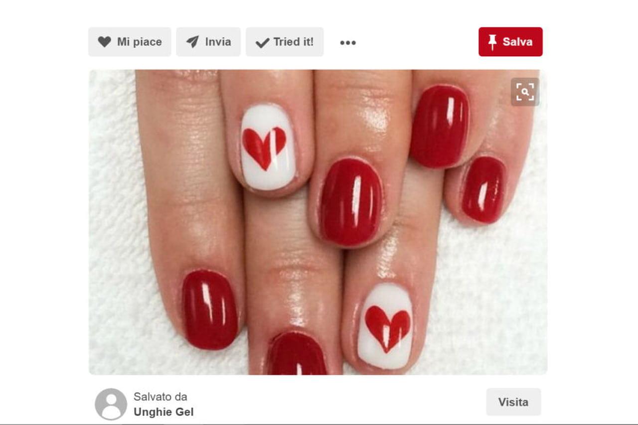 Nail Art San Valentino Le Idee Più Romantiche