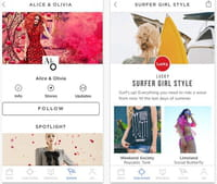 Instagram ispira Spring, l'app dedicata alla moda