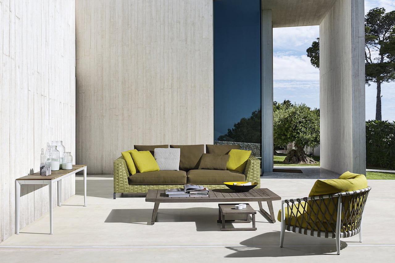 Arredamento outdoor mobili da esterno di design for Mobili di design d occasione