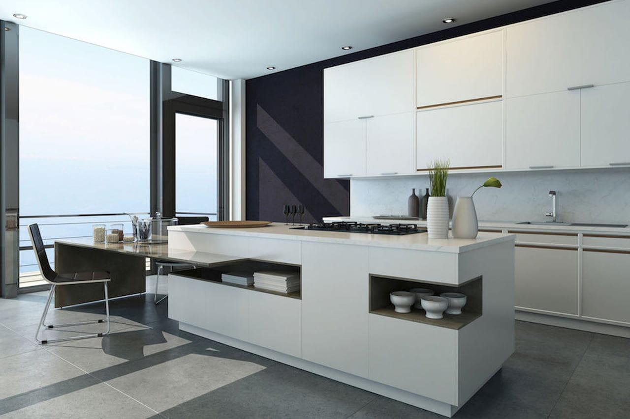Cucina bianca: moderna, country, chic
