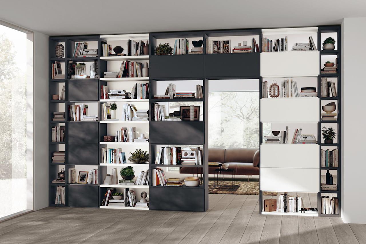 Pareti attrezzate moderne: soluzioni per il soggiorno (e non ...