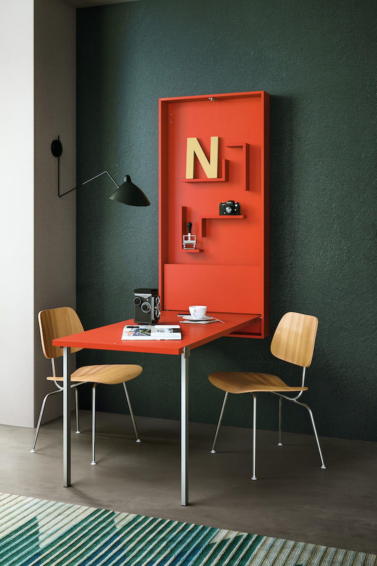 Ikea Scrittoio Con Ribaltina tavolo a scomparsa: allungabile, estraibile o pieghevole