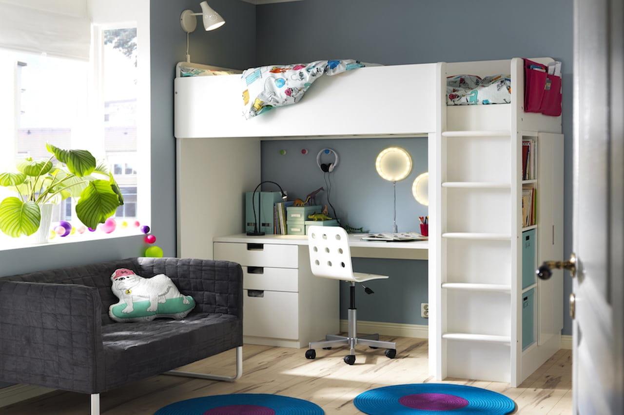 Cameretta Con Armadio A Ponte Ikea.Camerette Ikea Proposte Per Neonati Bambini E Ragazzi