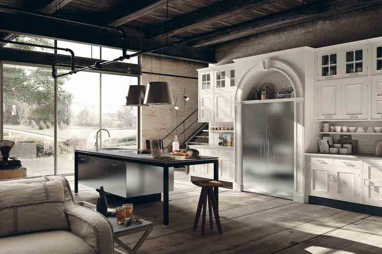 Come Decorare Una Cucina Rustica arredamento rustico (di design): la campagna in città