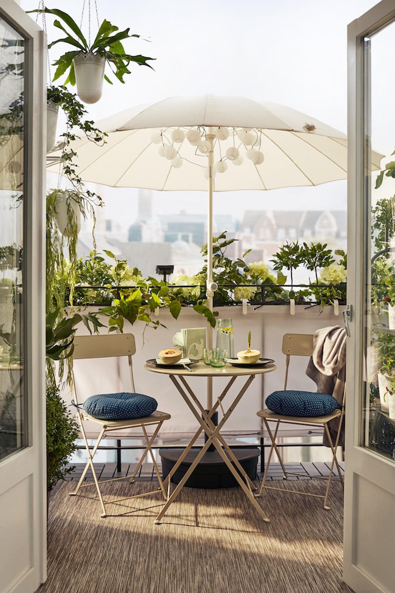 Tavolino Per Balcone Ikea ikea giardino 2017: outdoor conviviale - magazine delle donne