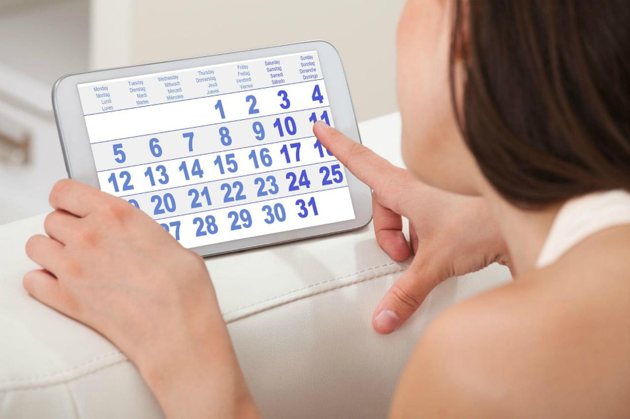 Calendario Del Ciclo Mestruale.Calendario Mestruale Come Funziona