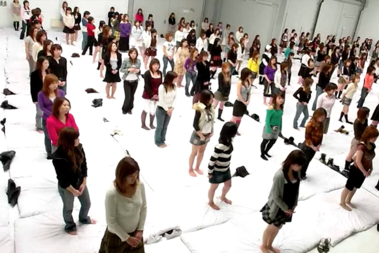Giapponese orgia record