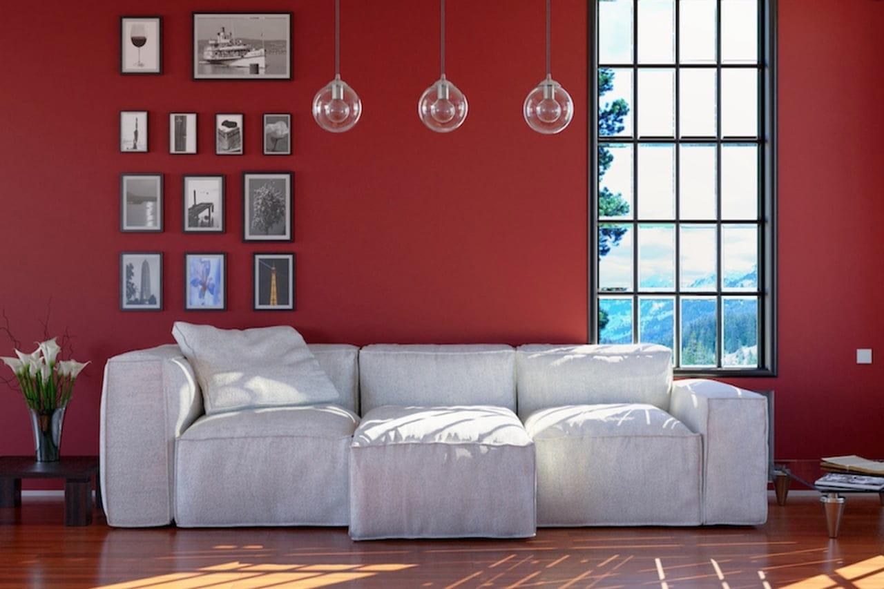 Pareti colorate idee per tutte le stanze for Colori per salone