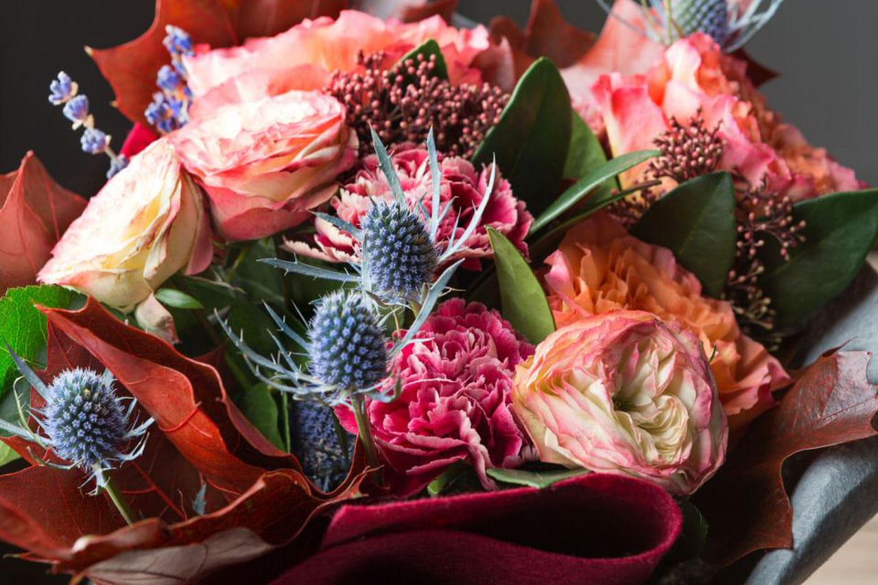 Fiori Di Ortensia Secchi composizioni di fiori secchi: idea per matrimonio country